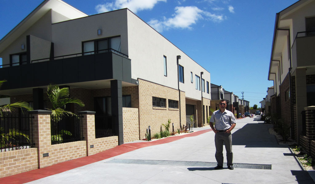 Melbourne – 17 units development structural and stormwater design